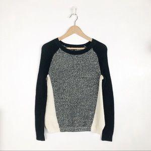 Express crew neck knit sweater